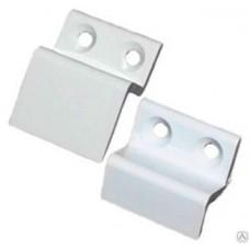 Кронштейн пластик. белый (пара) верх/низ