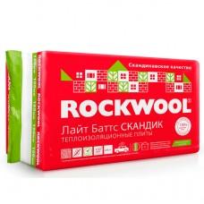 Утеплитель ROCKWOOL Сауна Баттс 1000*600*50мм (8 плит,0,240м3) пл40кг/м3