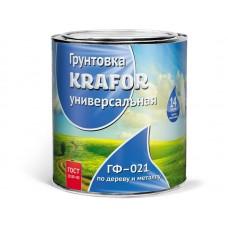 "Грунт ГФ-021 кр-корич 0.8кг (14) ""KRAFOR"""