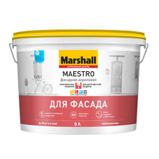 «Marshall Maestro» — Фасадная Акриловая 4,5л