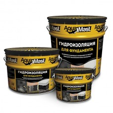 Мастика битумная AguaMast 3кг для фундамента