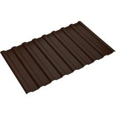 Профнастил 1100*1150 с20 коричневый (0,5)