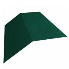 Конек плоский 150/150/2000/0.5 зеленый (6005)
