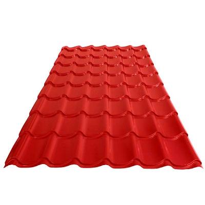 Металлочерепица 2550 красный