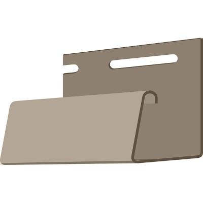 DOCKE J-профиль фасадный (бежевый) 3,05м