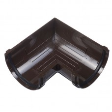 Угловой элемент шоколад 90 градус. DOCKE