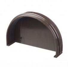 Заглушка желоба шоколад  с резинкой DOCKE