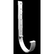 Кронштейн желоба металлический Vinil-On D=125 белый