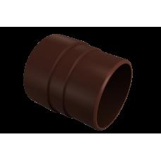 Муфта трубы соединительная Vinil-On D=90 кофе