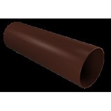Труба водосточная Vinil-On D=90 3м кофе